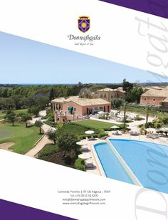 Donnafugata Golf Resort ADV - Advertising Layout Magazine #advertising #magazine #layout #graphic #resort #golf #ragusa #design #inspiration #campain #pubblicità #media #creative #ideas #photograpy  www.euromanagement.it