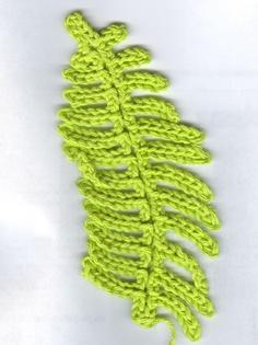 Free Crochet Fern Leaf Pattern : Irish crochet on Pinterest Irish Lace, Crochet Leaves ...