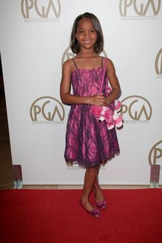 """Beasts of the Southern Wild"" star Quvenzhane Wallis at the 24th Annual Producers Guild Awards."