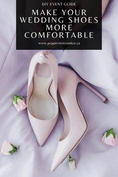 Budget Wedding, Wedding Tips, Diy Wedding, Wedding Planning, Bridal Bouquet Blue, Comfortable Shoes, Wedding Shoes, Hair Makeup, Events
