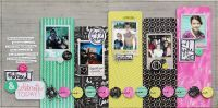 Page of the Month - September 2015 #blessed featuring B-Side by Basic Grey for Scrapbooks