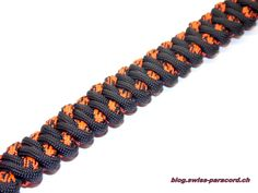 Mountain Road Armband und Tutorial | Swiss Paracord