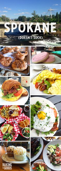 In fact, it's blowing up and tasting good. A list of my favorite bakeries, restaurants, coffee shops and spots in Spokane, WA. Spokane Washington, Washington State, Places To Eat, Places To Travel, Pacific Crest Trail, Pacific Coast, West Coast, Evergreen State, Surfing Pictures