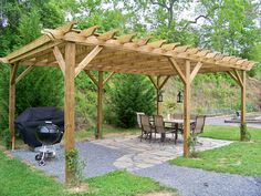 Enjoying The Simple Things – Taking Time To Live Well, Home Decor, Gardening and Cooking Hot Tub Gazebo, Time To Live, Outdoor Spaces, Grilling, Pergola, Backyard, Outdoor Structures, Simple, Garden