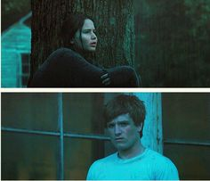 It's the bread scene! ACK! Is it wrong that I find Peeta completely sexy here?
