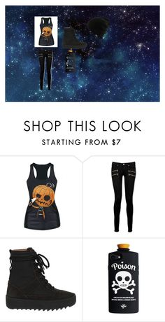 """""""Starry Night"""" by bloody3tear ❤ liked on Polyvore featuring Paige Denim"""