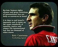 Quote by Eric Cantona.
