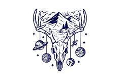 Call of mountains   Pre-Designed Illustrator Graphics ~ Creative Market