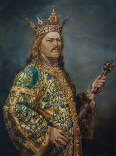 Stephen the Great Adele, House Of Dragons, King Of Queens, Romania Travel, Queens Jewels, Roman Emperor, Medieval Clothing, Kaiser, King Queen