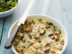 Omelett mit Pilzen dazu Feldsalat ist ein Rezept mit frischen Zutaten aus der Kategorie Omelette. Probieren Sie dieses und weitere Rezepte von EAT SMARTER!