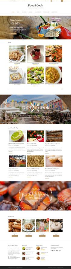 Food & Cook is your Food Blog Wordpress Theme, sharing recipes and cooking tips can't get any easier than this. With Beautiful and Clean design its a Perfect display for your food catalogue.