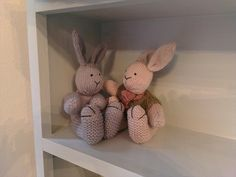 I met some resistance from the babbits who don't like being put upon a shelf!