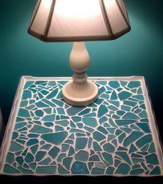 Stunning Sea Glass Mosaic