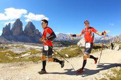 I Dolomitterne på 8. og sidste etape af GORE-TEX Transalpine Run 2010, med små 10 km igen efter 305 km fra Ruhpolding i Sydtyskland til Sexten i Italien - fantastisk løb!