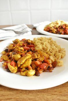 Asian Recipes, Healthy Recipes, Ethnic Recipes, Quinoa, Kung Pao Chicken, Tapas, Nom Nom, Dessert Recipes, Desserts