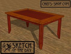 Sketch of the Day: Dining Table