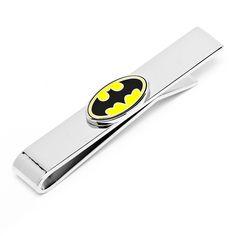 DC Comics Batman Logo Tie Bar
