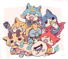 Anime Fnaf, Anime Kawaii, Anime Naruto, Yo Kai Watch 2, Kai Arts, Pokemon, Nickelodeon, Digimon, Power Rangers