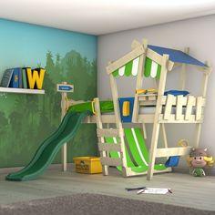 Ottimizzare la camera dei bambini con un letto a soppalco! Ecco 15 idee a cui ispirarsi….