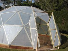 Introduction    In early 2011, I built a geodesic dome greenhouse in my garden in Norfolk. I recorded the process of designing and buildi...