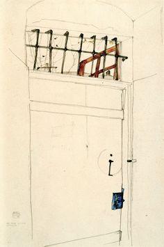 Egon Schiele (1890-1918гг). 1916 год. Музей рисунка