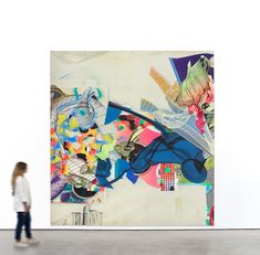 This massive painting is turbulent with contrasting techniques and forms, including grids, spirals, and loops. The work's surface is flat only in fact—the dynamic jumble of forms that have been spray painted, stenciled, and computer projected onto the canvas appear vividly three-dimensional. ⠀ Courtesy Gary Tatintsian Gallery and the artist.  #frankstella #stella #heinrichvankleist #onlineviewingroom #viewingroom #contemporaryart #artadvisory  #americanart #artcollector… Computer Projects, Frank Stella, Spirals, Three Dimensional, American Art, Stencils, Contemporary Art, Surface, Flat