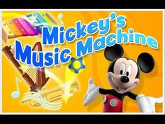 Mickey Mouse Clubhouse - Mickey's Music Machine - Mickey Mouse Game