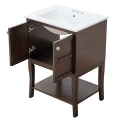"Jhon 24"" Single Bathroom Vanity Set"