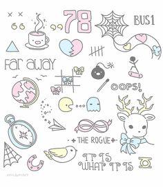 Louis' tattoos by milamint.deviantart.com on @deviantART