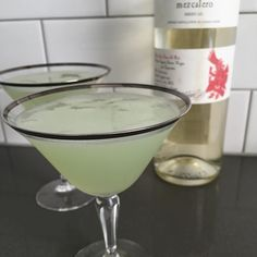 Sunday is for NBA Finals Korean BBQ and Wishing My Father a Happy Fathers Day Cocktail Hour: The Mezcal Last Word.  #cocktailrobot