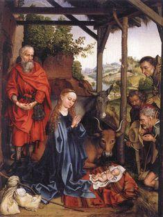 Nativity, Martin Schongauer, ca. 1480