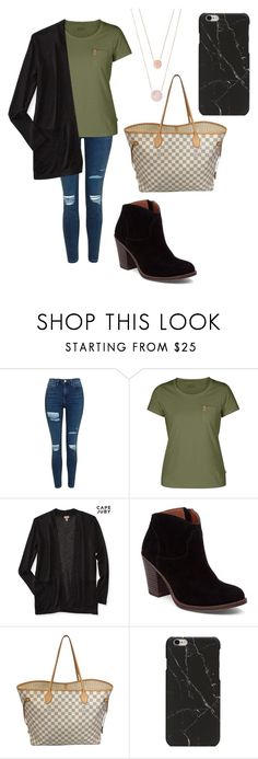 """""""fall outfit"""" by fashionblogger2122 on Polyvore featuring Topshop, Fjällräven, Aéropostale, Lucky Brand, Louis Vuitton and Michael Kors"""