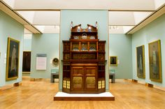 Items from the Whistler collection on display in the Art Gallery main gallery. James Mcneill Whistler, Old Time Radio, Public Display, Art Gallery, Collection, Design, Home Decor, Art Museum, Decoration Home