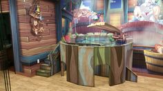 Themed Environment at Faith Family Church, SD - What's 2D and what's 3D?! Wacky World Studios creates amazing artwork that will fool the eye