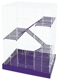 AmazonSmile : Ware Manufacturing Chew Proof 4-Story Hamster Cage : Pet Cages : Pet Supplies
