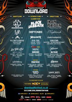GoRockfest.Com: Download Festival 2016 Lineup & Tickets Info