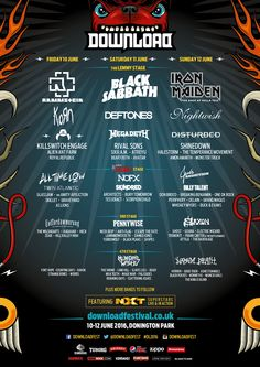 GoRockfest.Com: Download Festival 2016 Lineup & Tickets Info
