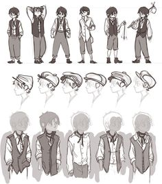 Character Design References, Character Art, Kleidung Design, Drawing Anime Clothes, Fashion Design Drawings, Drawing Reference Poses, Drawing Base, Manga Comics, Art Drawings Sketches