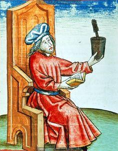Apotheker   Dieses Bild: 006750     1479 ; 1479 ; Wien ; Österreich ; Wien ; Österreichische Nationalbibliothek ; cod. 3049 ; fol. 132v