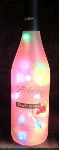 Multi colored Arbor Mist bottle