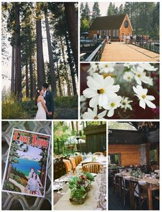 Lake Tahoe wedding venues - Chamber's Landing shot by Annie X Photographie.