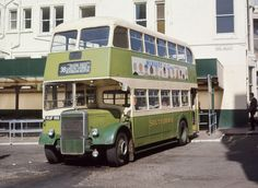 Leyland - Beadle Southowram Bus at Pool Valley termius, Brighton, East Sussex, England Brighton Sussex, Brighton And Hove, East Sussex, Routemaster, Road Transport, Double Decker Bus, Bus Coach, Bus Station, Busses