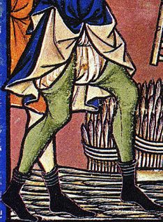 Mercados Medievales y Renacentistas: Vestimenta Medieval - La ropa interior en el siglo XIII