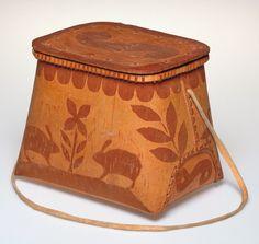 Basket, Anishinaabe (Ojibwe)