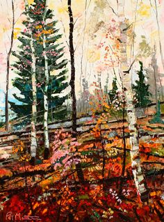 """""""Mountain Harmony"""" by Patrick Matthews. See more of his glowing oils at our…"""