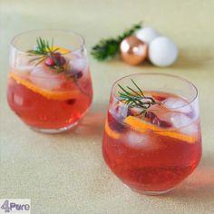 Christmas punch, a delicious drink. Recipe in English  Kerst punch, een heerlijk drankje. Recept ook in het Nederlands