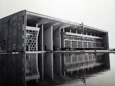 Le Corbusier - High Court, Chandigarh