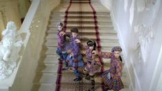 Neujahrskonzert/New Year's Concert/Concert Nouvel An Wien/Vienna/Vienne 01.01.2014 Original dancers costumes/Originaux costumes des danseurs Magnificent Liec...