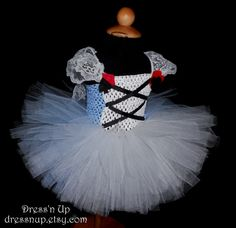 Alice in Wonderland dress baby girl costume size by DressNup, $55.00. Oh!! I could make this myself!
