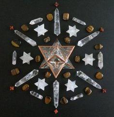 Crystal Mandala's - Crystal Healing Art